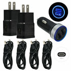 For Moto G Power(2021) G7 G9 G6 Plus One Cell Phone Car Wall Charger USB C Cable