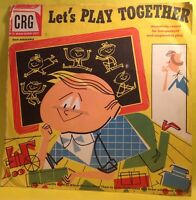 "Vintage - Let's PLAY TOGETHER, Children's Record Guild 10"" 78 RPM CRG-4503"