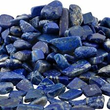 Indoor Fountain Stones & Sea Glass Lb Lapis Lazuli Tumbled Chips Crushed Healing