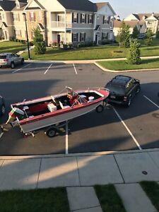 1976 18  Starcraft Sportsman fishing boat for sale