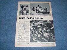 1962 Porsche Flat-8 Vintage F-1 Info Article