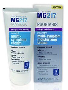 MG 217 Psoriasis Salicylic Acid Formula Multi-Symptom Cream 3.5 OZ