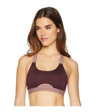 Nike Women's Classic Adjust Bra in Burgundy Crush 6215 Size S