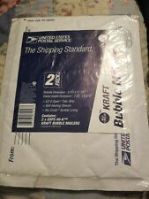 Nip Usps 2 Pk Bubble Mailers Envelopes 8 X 11 Self Sealing