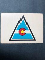 1977 O Pee Chee Team Logo - Team Records Colorado Rockies Vintage