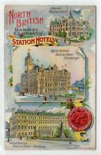 More details for north british railway company's station hotels: multiview postcard (c53274)