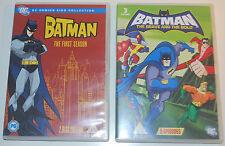 DC: The Batman: Season 1 (2 Discs) + The Brave and the Bold (Animated DVDs)