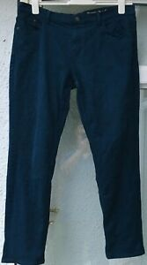 Mantaray Navy Cotton Trousers / Jeans Size 16