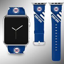 Cruz Azul FC Apple Watch Band 38 40 42 44 mm Series 5 1 2 3 4 Wrist Strap 01