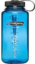Nalgene Wide Mouth Water Bottle: 32oz, Blue