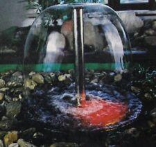 """Düse Wasserglocke 1"""" Wasserbild Wasserschleier Messing-vernickelt KFS 1464"""