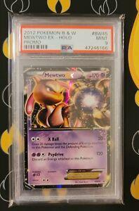 Mewtwo EX Pokemon Black & White Promo Pokemon Card Ultra Rare BW45 PSA 9