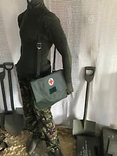 ( new )vintage medic, first aide bag .webbing ,tool bag army miliary hunting mod
