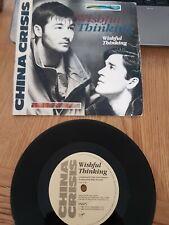"CHINA CRISIS Wishful Thinking 7"" Vinyl 1983 EX/VG"