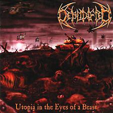 """DEBODIFIED """"Utopia in the Eyes of a Beast"""" death metal CD"""
