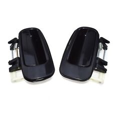 For Toyota Camry Outside Outer Exterior Door Handle Rear Left & Right Black New
