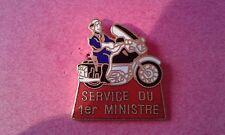 PIN'S POLICE NATIONALE / Service MOTOCYCLISTE  du 1erMINISTRE