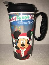 Disney Hollywood Studios Osborne Lights 2015 Travel Mug NEW