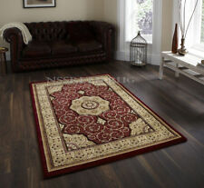 TRADITIONAL CLASSIC THICK DENSE LUXURY WOOL-LOOK PRESTIGE RUNNER RUG 80x300CM