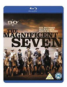 The Magnificent Seven [Blu-ray] [1960] [DVD][Region 2]