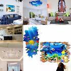 NEW DIY 3D SPECCHIO ADESIVO MURALE PARETE FINESTRA ARTE DECORAZIONE WALL STICKER