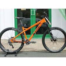 Orange Aluminium Frame Disc Brakes-Hydraulic Bikes