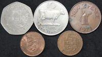 Mix Of Jersey & Guernsey Coins | Bulk Coins | KM Coins