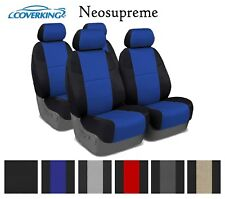 Coverking Custom Seat Covers Neosupreme Front and Rear Row - 6 Color Options