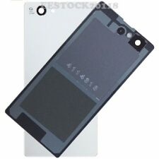 White Back Cover Glass Battery Door for Sony Xperia Z1 Mini Compact D5503 M51W