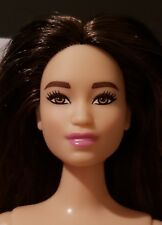 2018  Barbie Fashionista Doll 98 Future Is Bright Asian Curvy  NUDE DOLL ONLY
