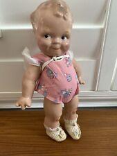 Antique Scootles Rosie O'Neill Cameo Doll Compo All Original