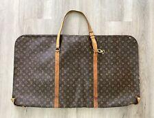•Vintage Louis Vuitton Garment Cover Bag•Coated Canvas Monogram•Travel•READ•LV