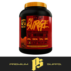 MUTANT ISO SURGE 2270G 100%  WHEY PROTEIN ISOLATE & HYDROLYSATE