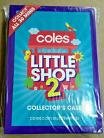 COLES MINI LITTLE SHOP 2 Collector's Case - New & Sealed