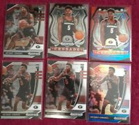 (6) 2020-21 Panini Prizm Draft Picks Anthony Edwards LOT! 2 Red W & B + 4 base