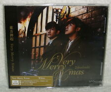 TOHOSHINKI Very Merry Xmas 2013 Taiwan Ltd CD+12P+Card (DBSK TVXQ)