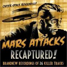 MARS ATTACKS Recaptured CD - New - ROCKABILLY
