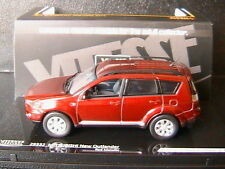 MITSUBISHI NEW OUTLANDER 4WD RED METALLIC VITESSE 29332 1/43 4X4 ROT ROSSO ROUGE