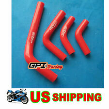 silicone radiator hose for Honda CRF250 CRF250X CRF250R 2004-2009 YEAR 2005