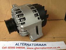 Vauxhall 1.9 Diesel 120 AMP Alternator Z19DTH Z19DTJ Z19DT Z19DTL