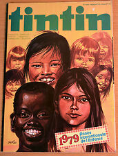 BD Comics Magazine Hebdo Journal Tintin No 44 33e 1978 1979 Année de L'Enfance