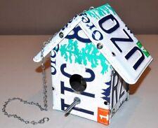 Oregon Metal License Plate Birdhouse - Tree Plates - Handmade