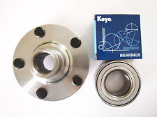 Front Wheel Hub W/OEM KOYO Wheel Bearing Set For Highlander,Sienna,Venza,RX400h