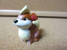 Vintage Genuine Pokemon Stamped AULDEY TOMY Toy Figure 2 inch Growlithe (PG868)