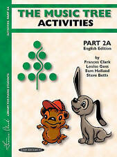 The Music Tree English Edition Activities Book: Part 2A (Frances Clark Library f