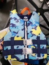 Speedo Youth Life Vest Blue 50-90 Lbs NEW