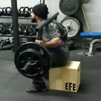Reinforced Squat Box 12 X 14 X 16 / Plyometric Jump