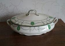 Antico ROYAL DOULTON CONTESSA MODELLO GRANDE ZUPPIERA 1930 S RD N. 523784 verdure piatto