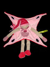 Doudou et Compagnie Tatoo Pops Lutin GM rose framboise DC2665 longues jambes