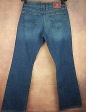 Womens Lucky Mid Rise Flare Leg Regular Length Kaltex Jeans (Sz 12/31) Stretch